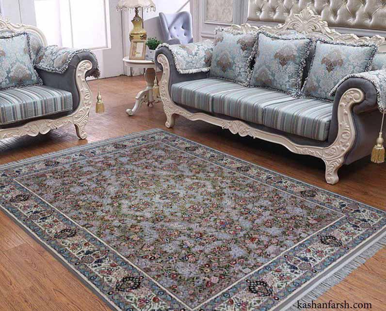 فرش باغ گل 1200 شانه
